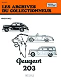 PEUGEOT 203 automotive repair manual