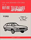 Revue Technique FORD (Deutschland) Capri