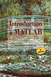 couverture du livre Introduction � MATLAB