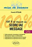 100% de r�ussite au score IAE message - Ellipses - 3� �dition 2011