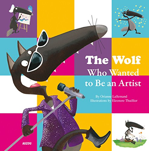 The wolf who wanted to be an artist