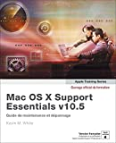 couverture du livre Mac OS X Support Essentials v10.5