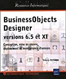 couverture du livre BusinessObjects Designer versions 6.5 et XI