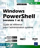 couverture du livre Windows PowerShell (versions 1 et 2)