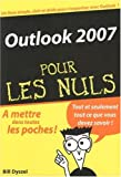 couverture du livre Outlook 2007
