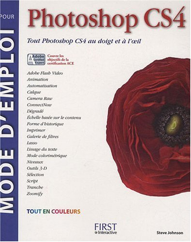 MODE D'EMPLOI PHOTOSHOP CS4