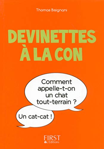 Petit Livre de - Devinettes à la con