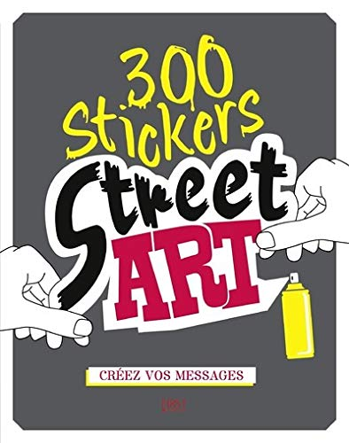 300 stickers street art