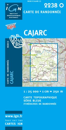 Cajarc - 1/25 000 par COLLECTIF