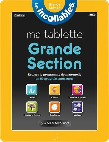 Incollables - Ma tablette grande section