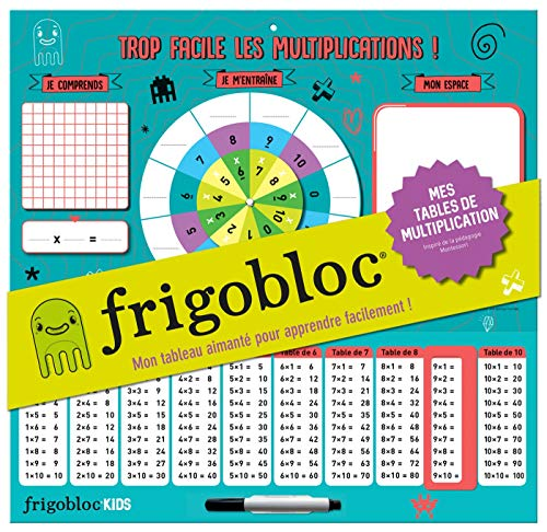 Frigobloc : Mes tables de multiplication