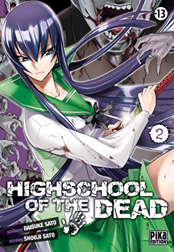 High school of the dead Vol.2 par SATÔ Daisuke