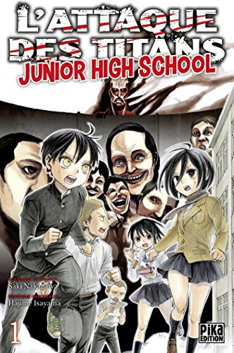 L'Attaque des Titans - Junior High School T01