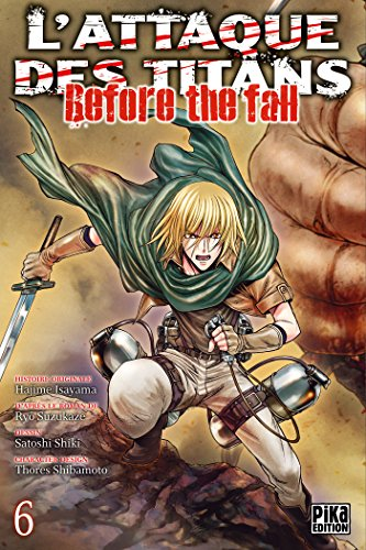 Attaque Des Titans (l') - Before the Fall Vol.6