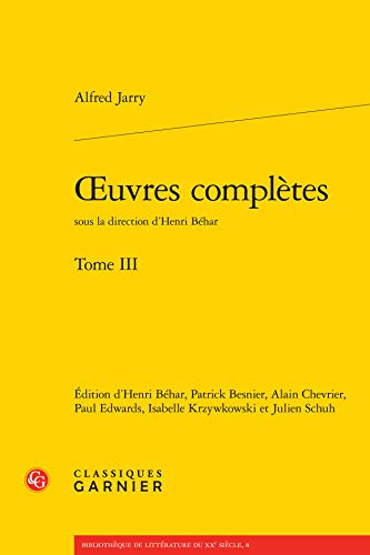 OEuvres complètes : Tome 3