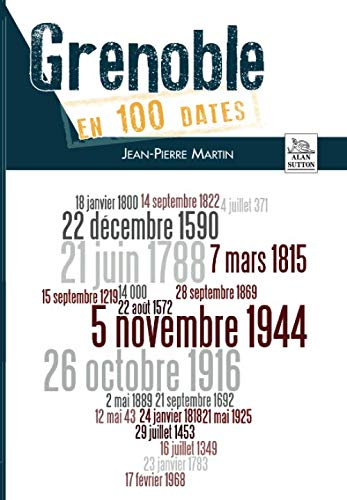 Grenoble en 100 dates par Jean-Pierre Martin