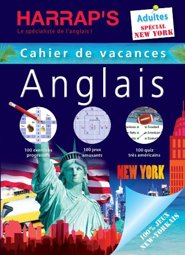Harrap's Cahier de vacances anglais adultes New York