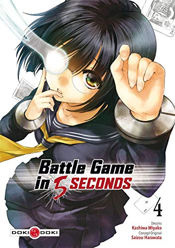Battle Game in 5 Seconds - Volume 4 par Miyako Kashiwa, Saizou Harawata