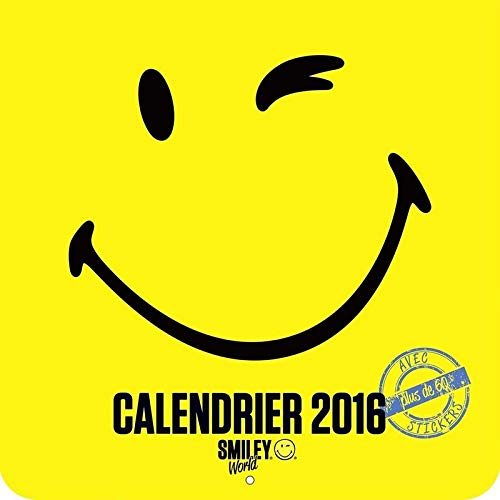Le calendrier 2016 Smiley