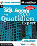 couverture du livre SQL Server 2000 au quotidien, expert
