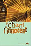 Couverture : Le chant de l'innocent