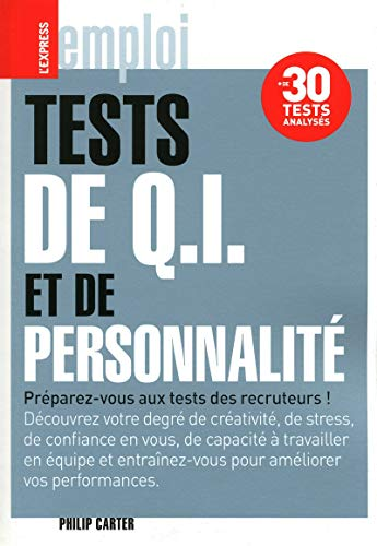 Tests de Q.I. de personnalité par Philip Carter