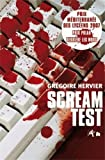 Couverture : Scream test