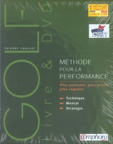 Coffret Livre + DVD : Golf, Methode pour la Performance, Technique, Mental, Strategie