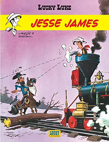 Lucky Luke - tome 4 - Jesse James par Goscinny