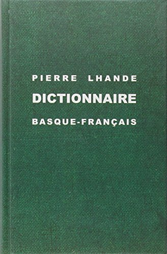 Dictionnaire Basque Franais