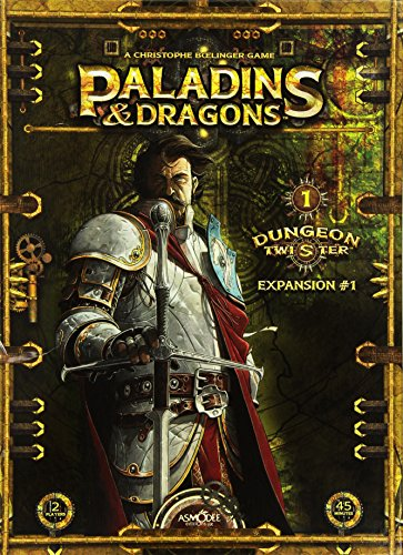 Dungeon Twister Paladins & Dragons: Expansion 1