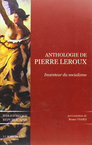 Anthologie de Pierre Leroux