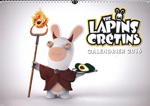 The Lapins Crétins calendrier 2016