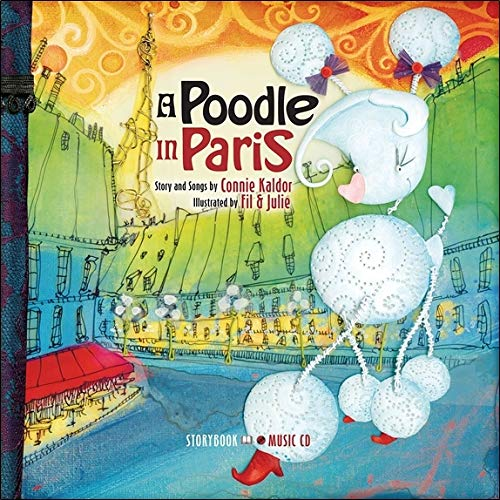 A Poodle in Paris - Livre + CD