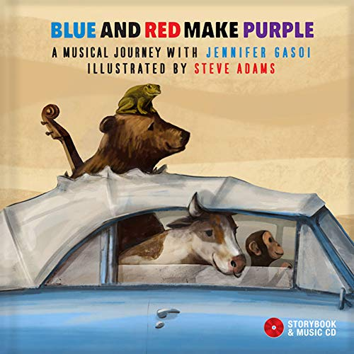 Blue and red make purple - Livre + CD