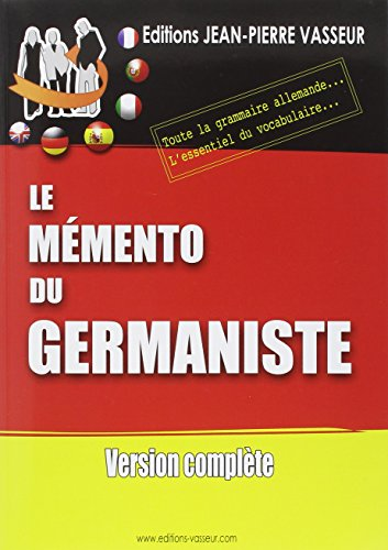 Mémento du germaniste