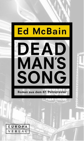 Ed McBain - Dead Man's Song