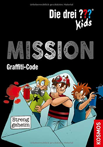 Die drei ??? Kids - Mission Graffiti-Code (Escape-Krimi 1)
