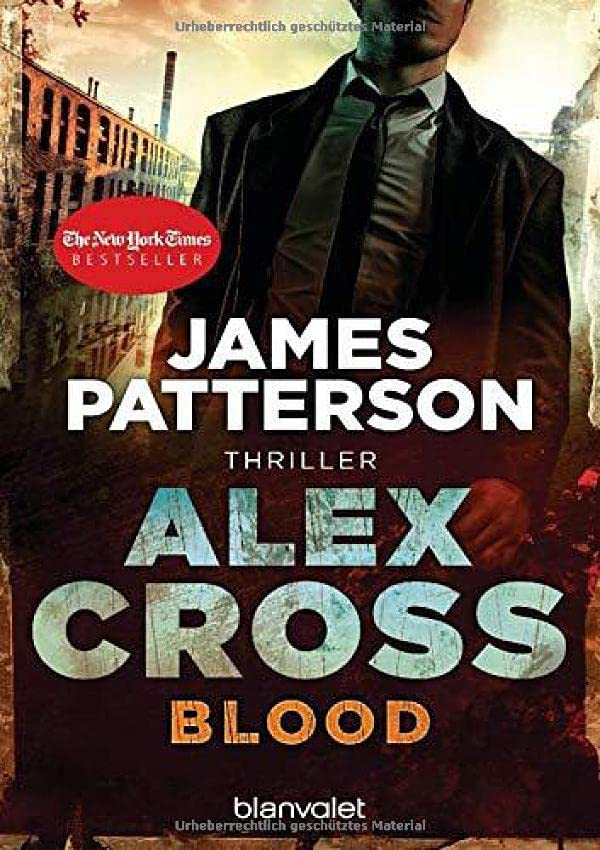 James Patterson - Blood (Alex Cross, Band 12)