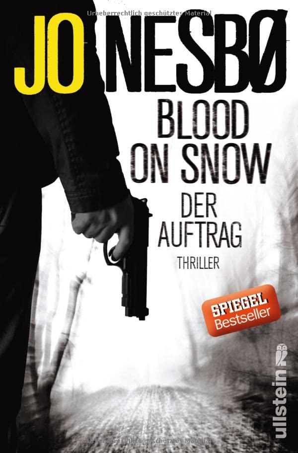 Jo Nesbo - Blood on snow. Der Auftrag