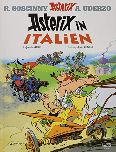 Asterix in German: Asterix in Italien