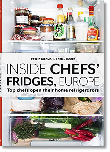 Inside Chefs Fridges, Europe. Top chefs open their home refrigerators