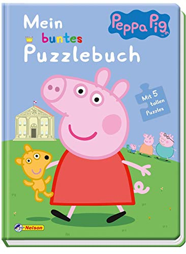 Nelson - Peppa Pig: Mein buntes Puzzlebuch