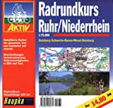 Radtouren: Gefhrte Radtouren: Radrundkurs Ruhr, Niederrhein 1 : 75 000
