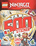 LEGO Ninjago: 500 Sticker - Band 2 (Rätsel-Stickerbuch)