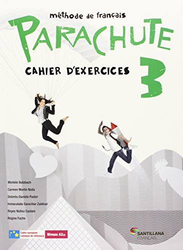 PARACHUTE 3 PACK CAHIER D'EXERCICES