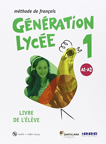 GENERATION LYCEE A1/A2 ELEVE+CD+DVD
