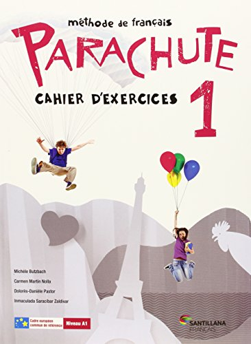 PARACHUTE 1 PACK CAHIER D'EXERCICES
