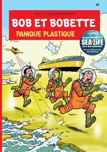347 Panique Plastique par  Willy Vandersteen