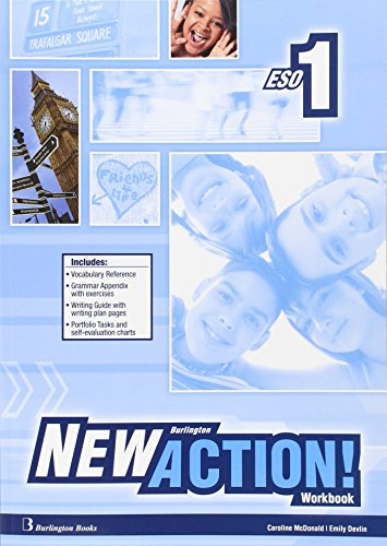 New Burlington Action 1 Workbook + Language Builder